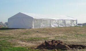 השכרת אוהל גדול