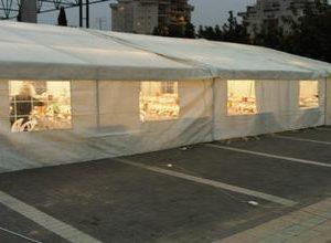 אוהל 6 כפול 8