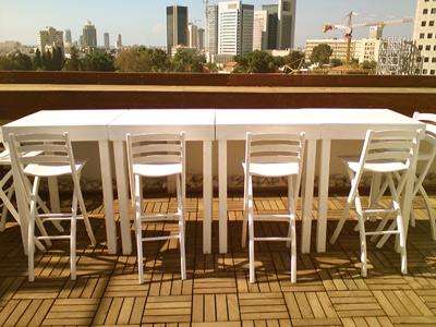 שולחן בר להשכרה באירוע
